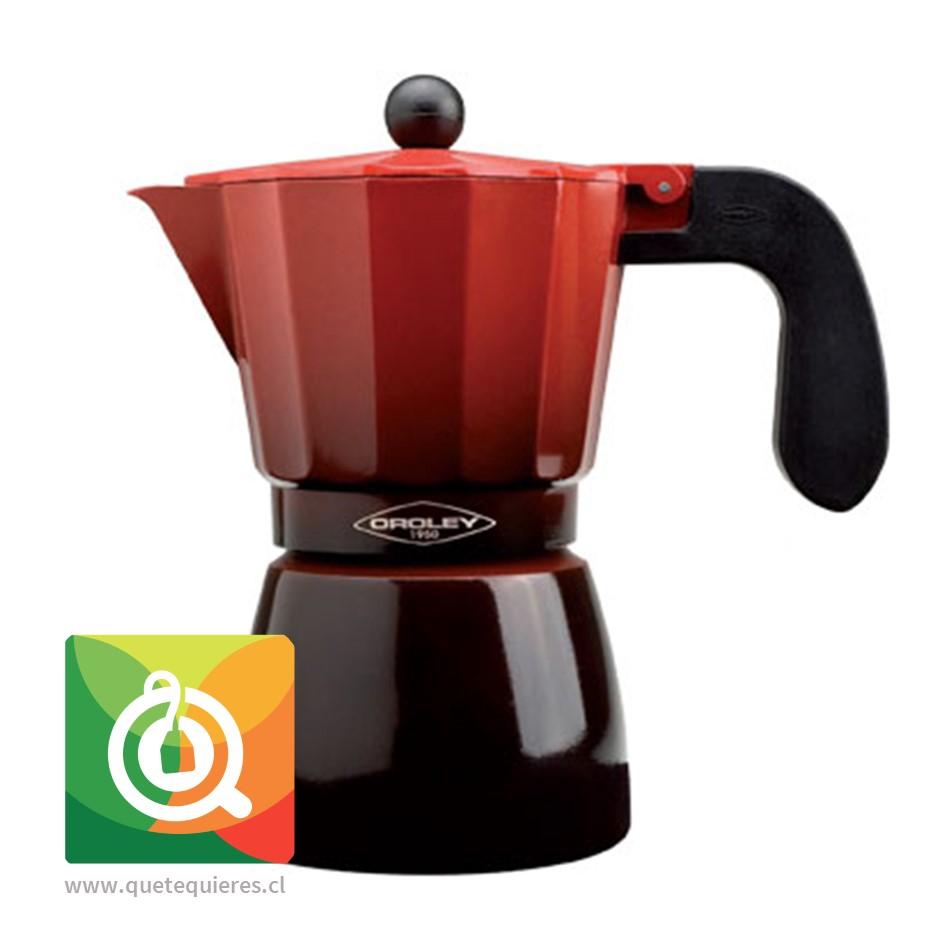 Oroley Cafetera Italiana Ecofund Inducción 12 Tazas
