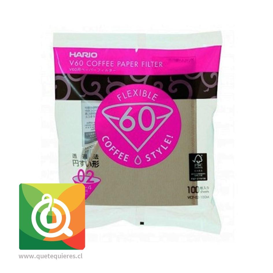 Hario Filtro de Papel Para Cafetera V60
