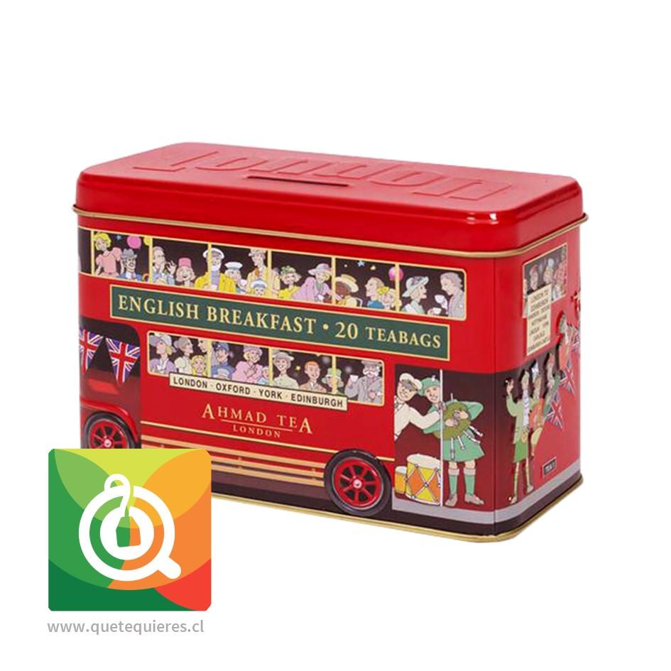 Ahmad Té Negro English Breakfast Alcancía Bus de Londres - Image 1