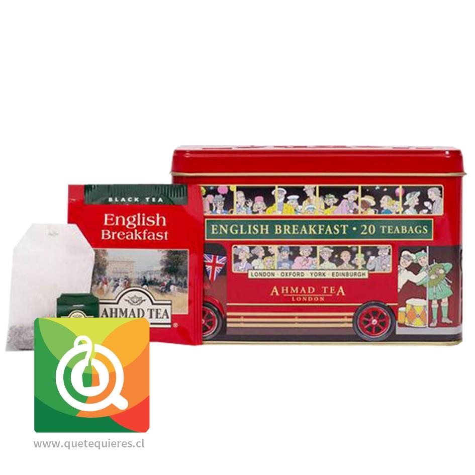 Ahmad Té Negro English Breakfast Alcancía Bus de Londres - Image 2