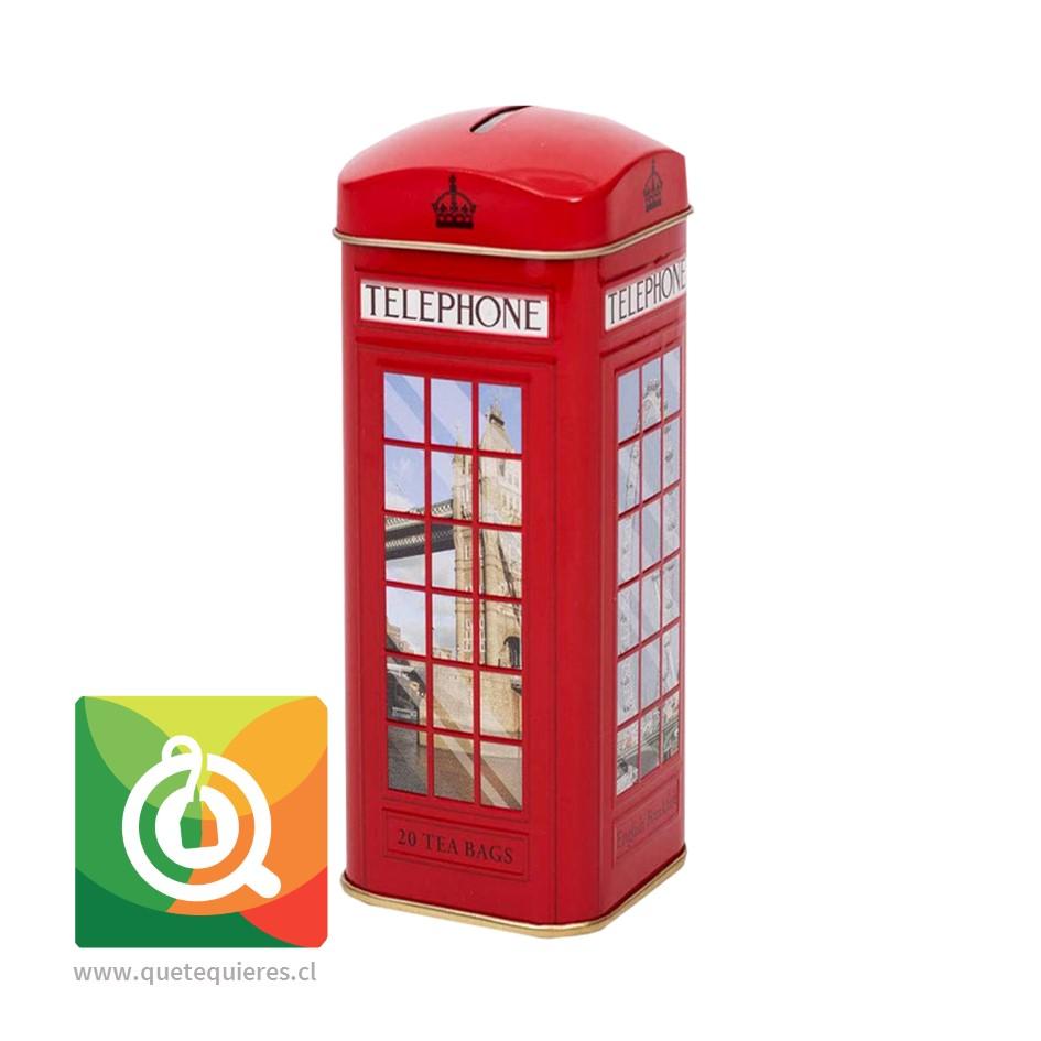 Ahmad Té Negro English Breakfast Alcancía Teléfono de Londres - Image 1