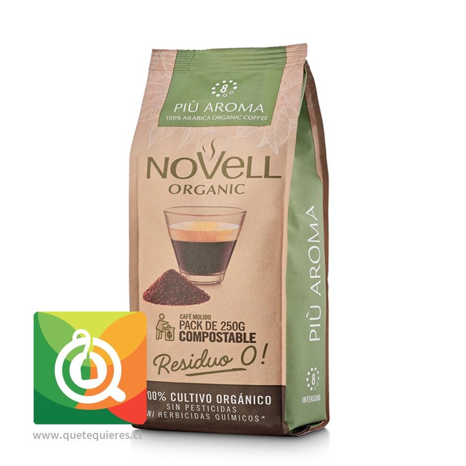 Novell Café Molido Piu Aroma 250 gr