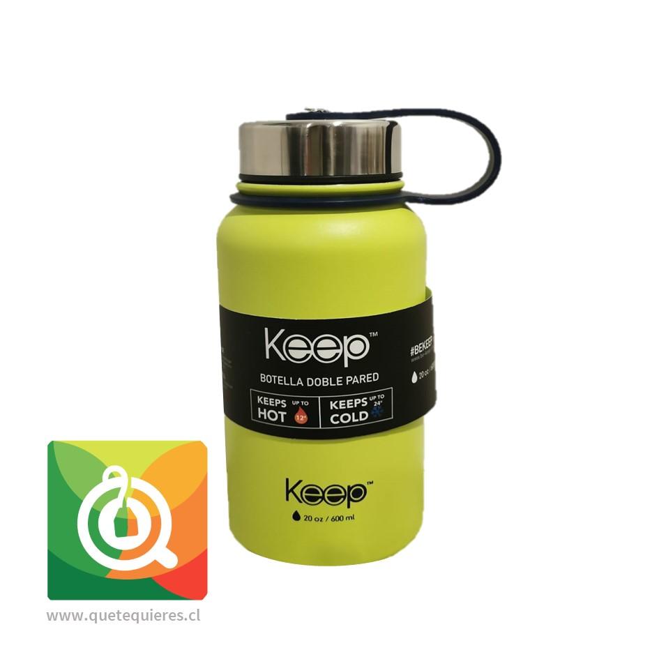 Keep Botella Doble Pared Verde