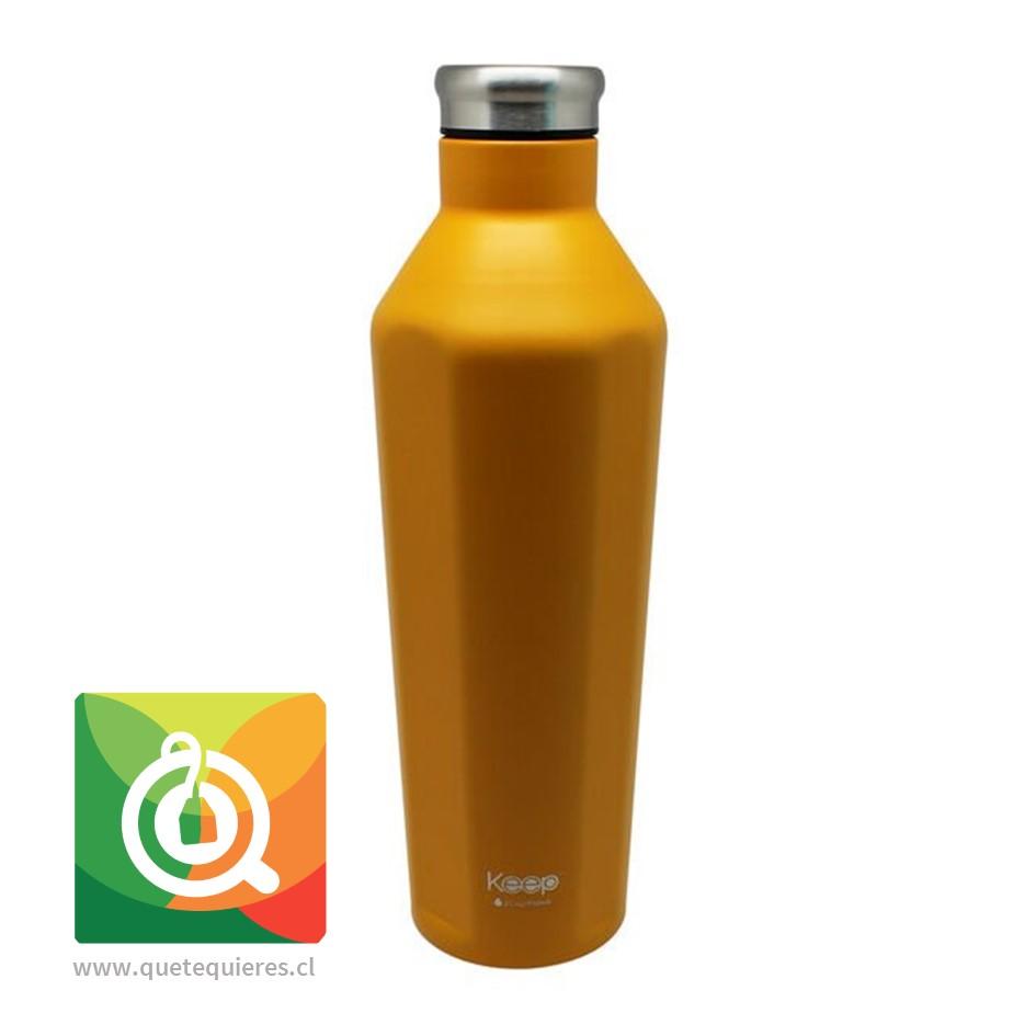 Keep Botella Insulada Amarilla