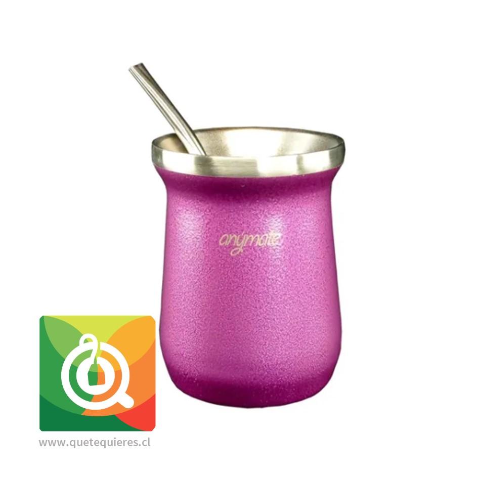 Anymate Mate Premium Morada con Bombilla - Image 2
