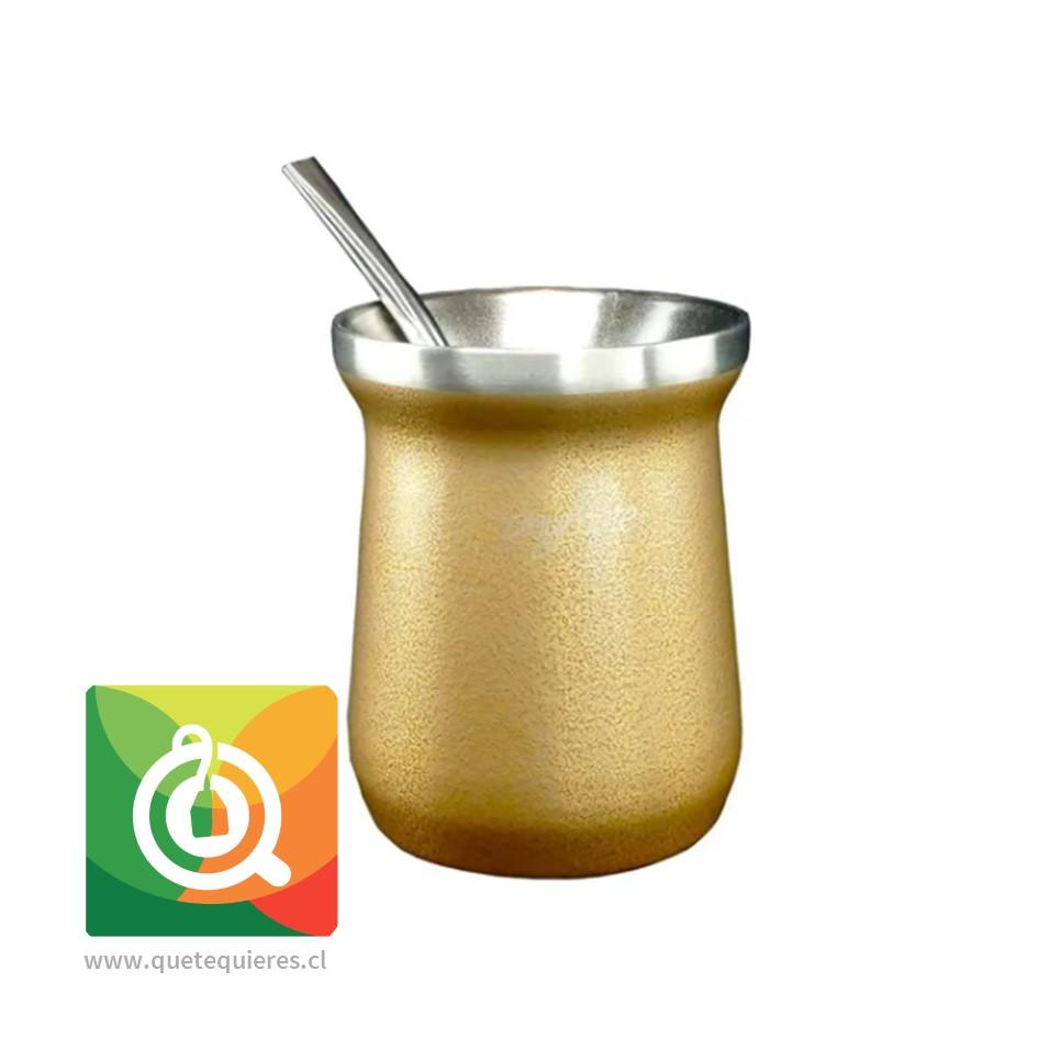 Anymate Mate Premium Dorado con Bombilla - Image 2