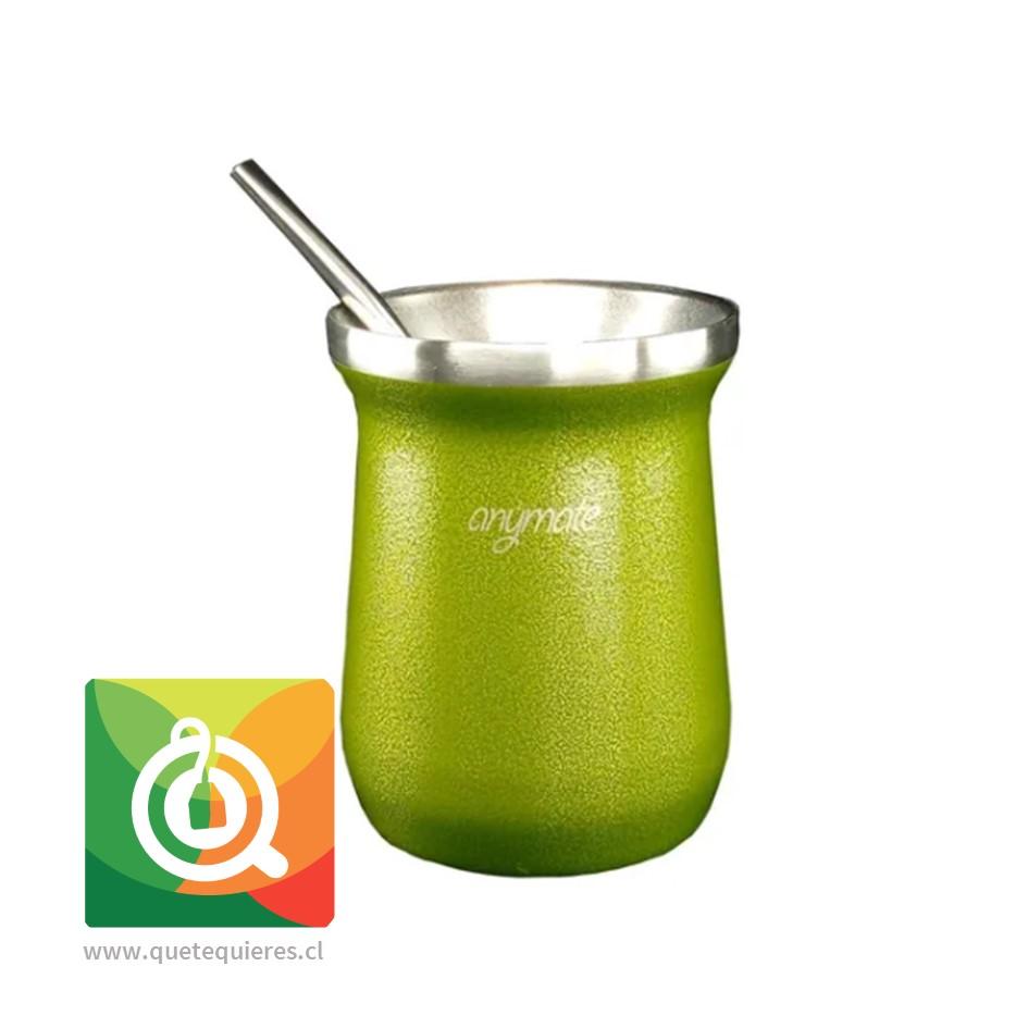 Anymate Mate Premium Verde con Bombilla - Image 2