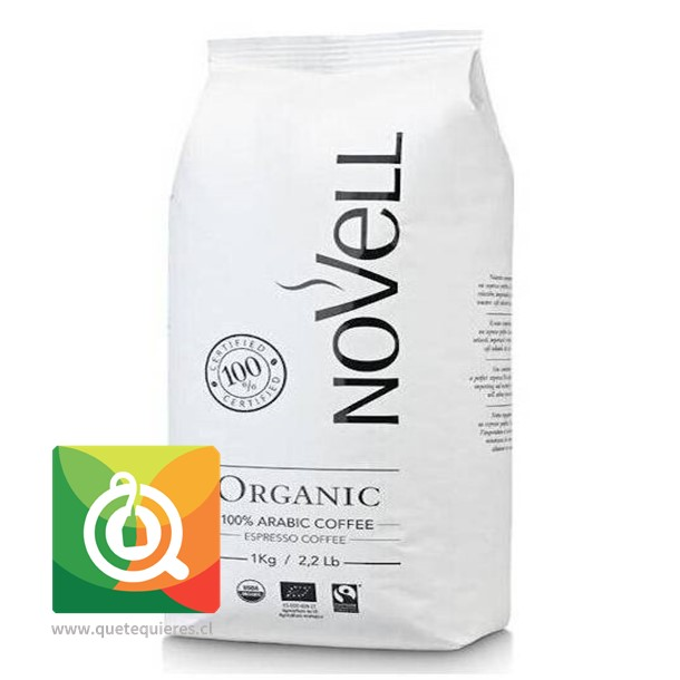 Novel Café Grano Orgánico Triple Certificado