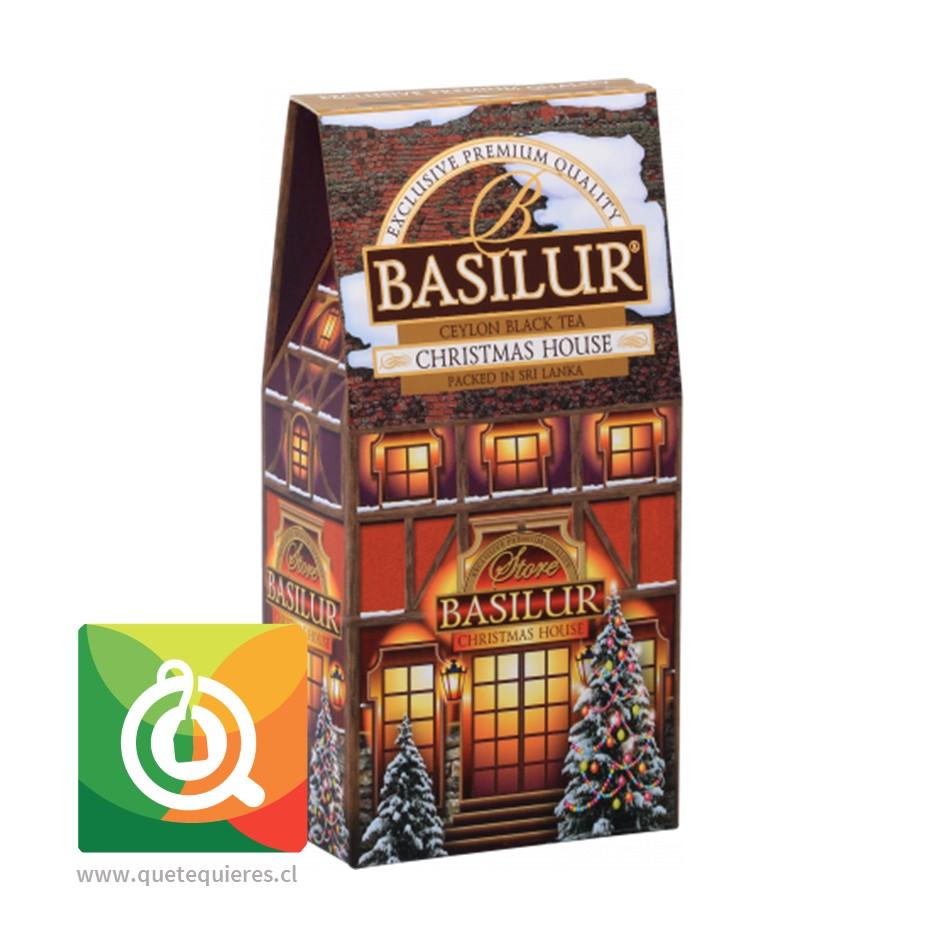 Basilur Té Negro Christmas House