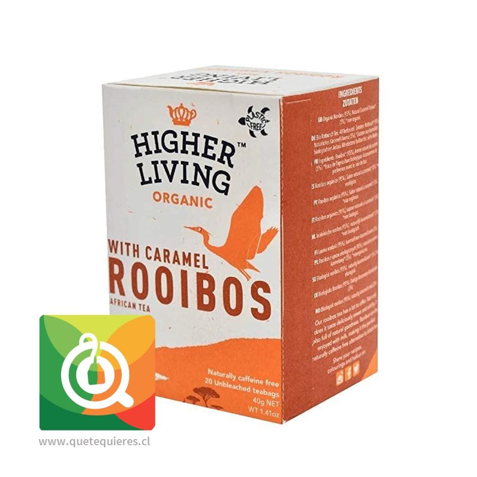 Higher Living Infusión Rooibos Caramelo