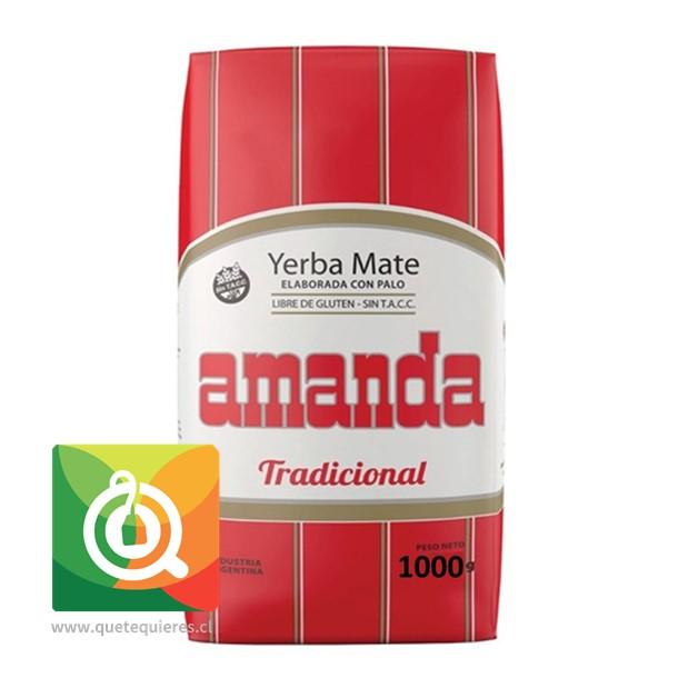 Amanda Yerba Mate Tradicional 1 Kg