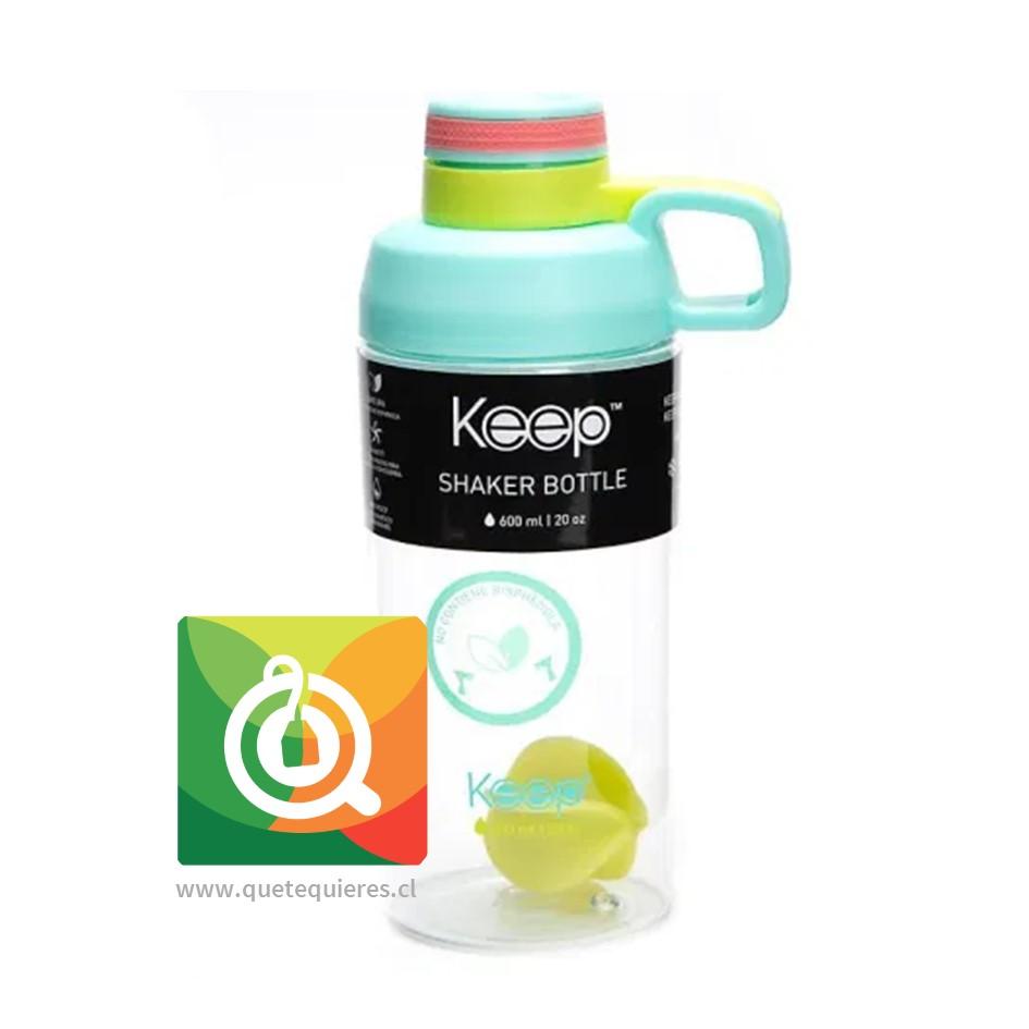 Keep Botella Shaker Turquesa / Amarillo