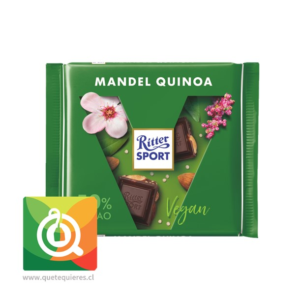Ritter Sport Chocolate Barra Almendra Quínoa