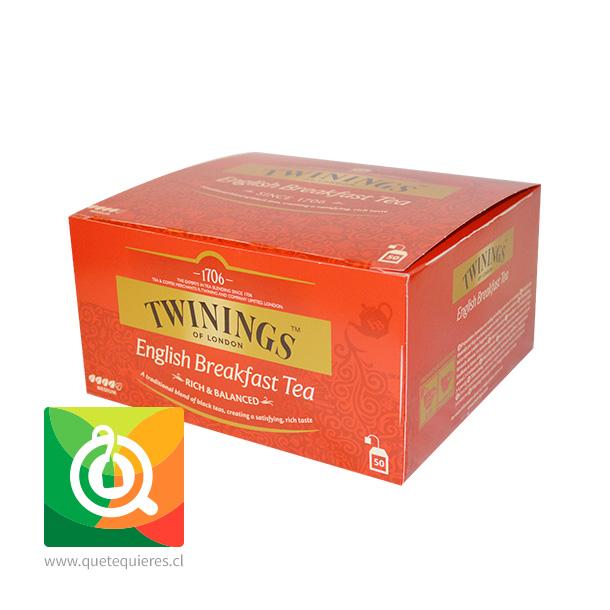 Twinings Té Negro English Breakfast 50 x 2 gr- Image 3