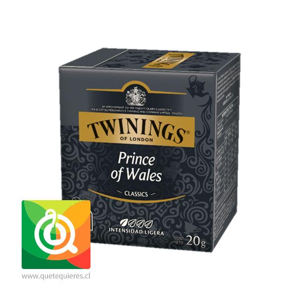 Twinings Té Negro Prince Of Wales 10 x 2 gr