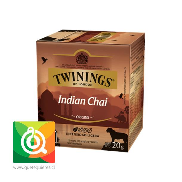 Twinings Té Negro Indian Chai 10 x 2 gr