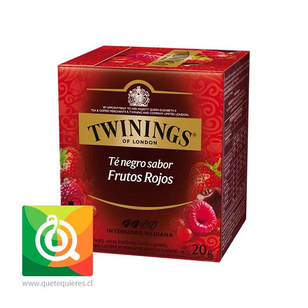 Twinings Té Negro 4 Frutos Rojos