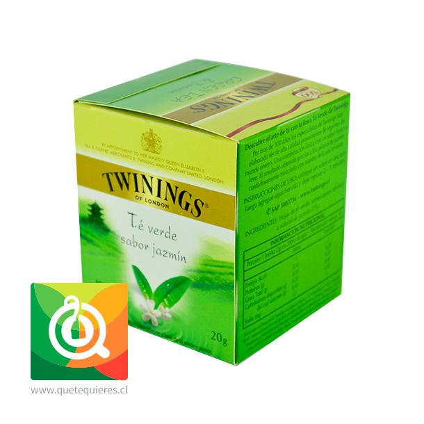 Twinings Té Verde Jazmín 10 x 2 gr