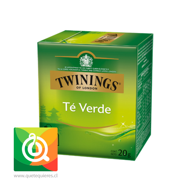 Twinings Te Verde 10 x 2 gr