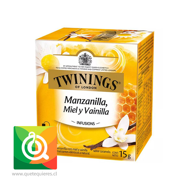 Twinings Infusion Manzanilla, Miel y Vainilla
