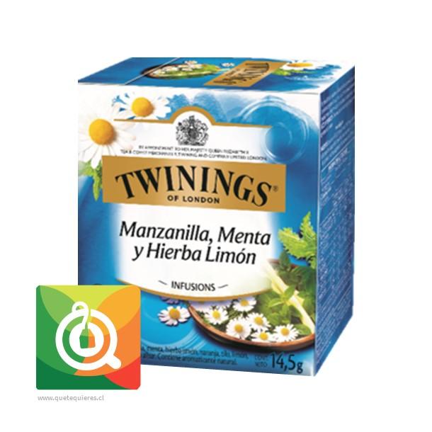 Twinings Infusion Manzanilla, Menta y Hierba limón