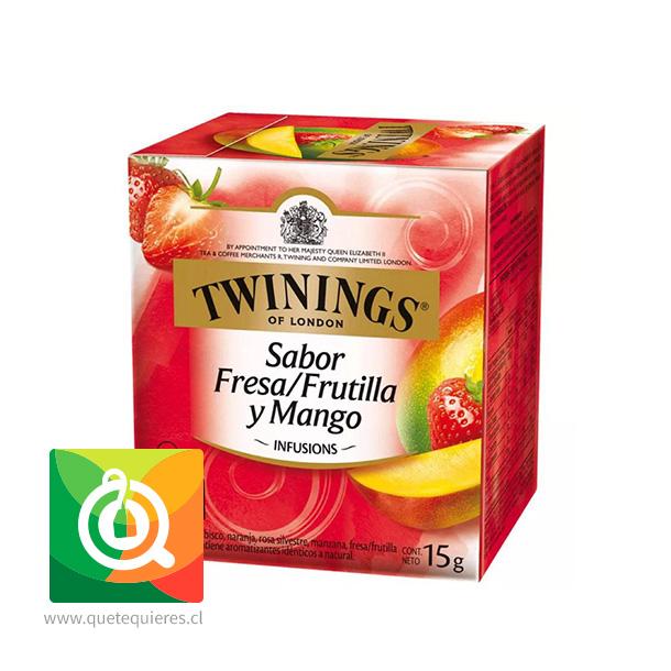 Twinings Infusion Frutilla y Mango