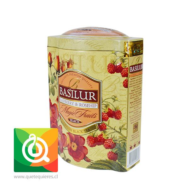 Basilur Lata Té Negro Frambuesa y Rosa Mosqueta - Raspberry & Rosehip