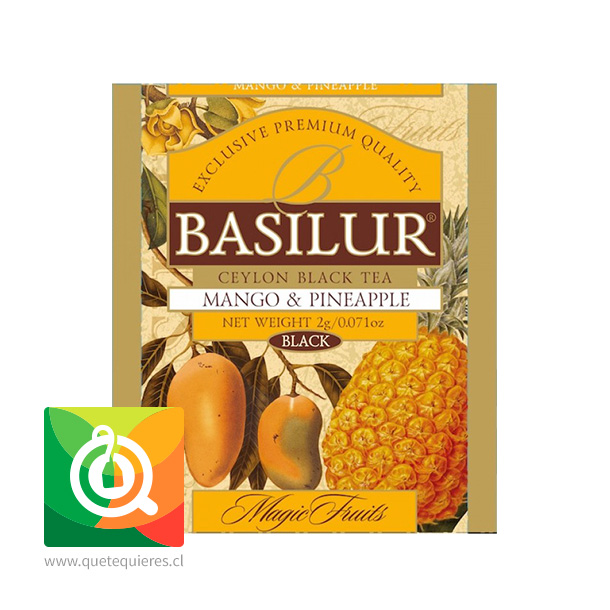 Basilur Té Magic Fruit Mango y Piña - Mango & Pineapple- Image 3