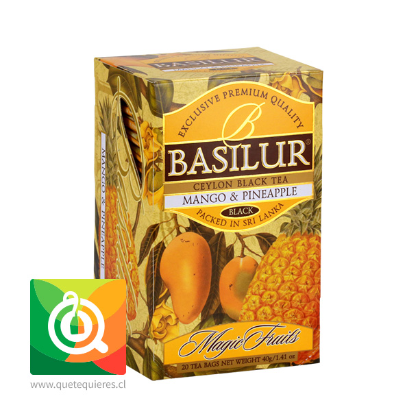 Basilur Té Magic Fruit Mango y Piña - Mango & Pineapple- Image 2