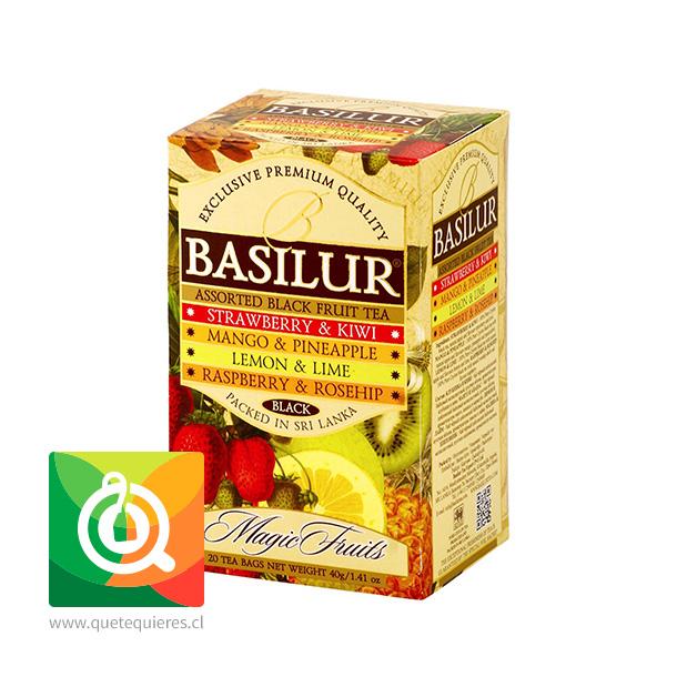 Basilur Té Magic Fruits Assorted - Surtido Té Frutales