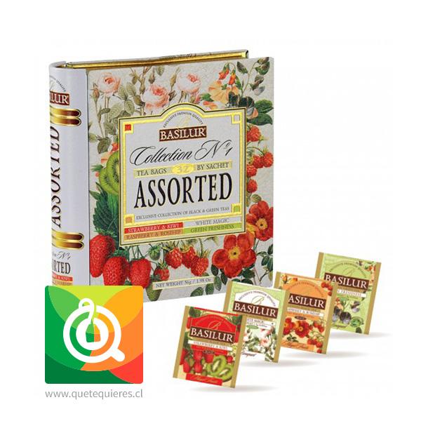 Basilur Libro de Té Colección N° 1 - Collection N°1 Tea Book- Image 2