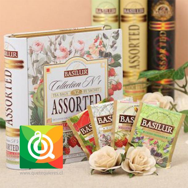 Basilur Libro de Té Colección N° 1 - Collection N°1 Tea Book- Image 4