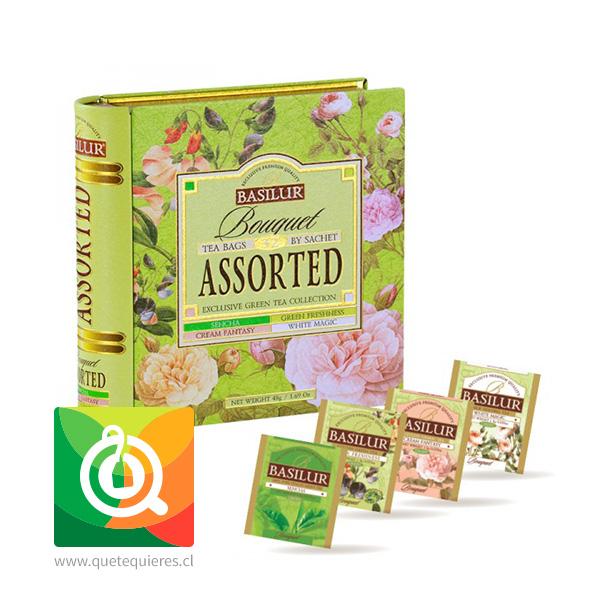 Basilur Libro de Té Surtido Verde - Bouquet Assorted Tea Book- Image 2