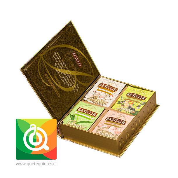 Basilur Libro de Té Surtido Verde - Bouquet Assorted Tea Book- Image 3