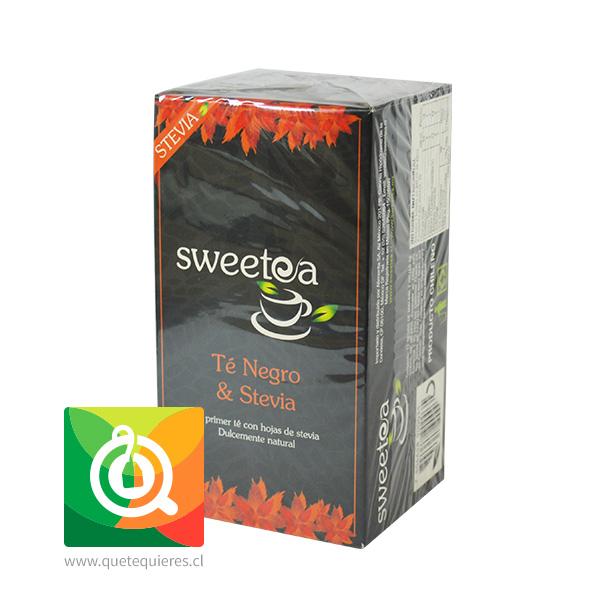 Sweetea Té negro Stevia 20 bolsitas- Image 2