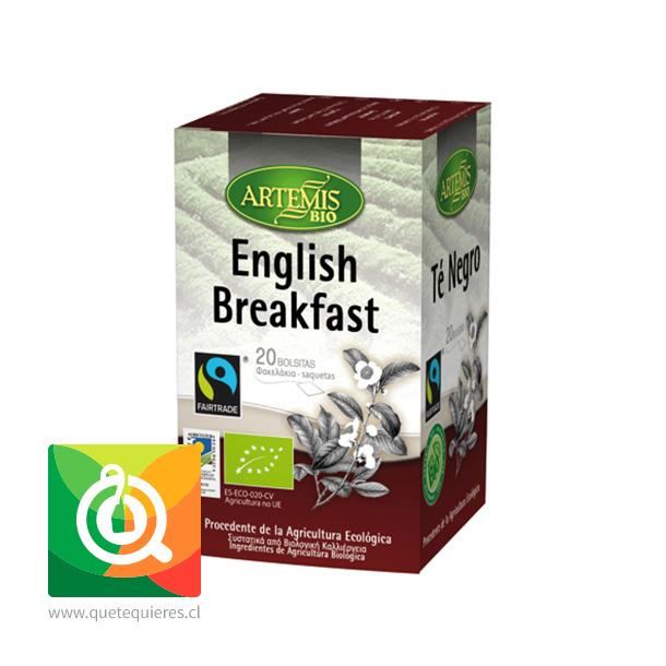 Artemis Bio Té Negro English Breakfast - Orgánico
