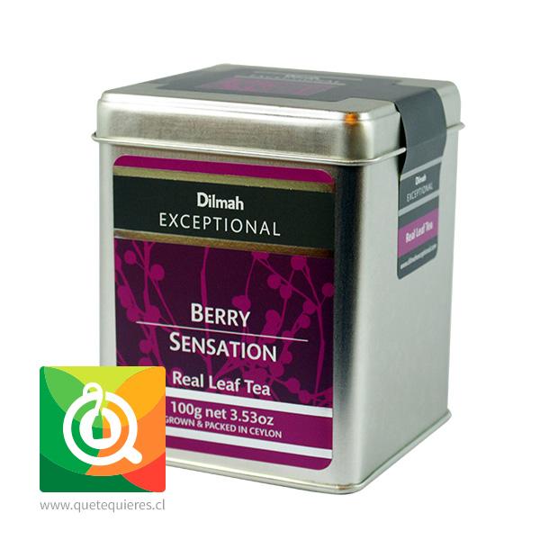 Dilmah Exceptional Té Negro Berry Sensation Lata 100 gr