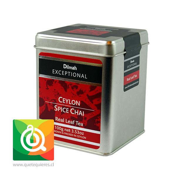 Dilmah Exceptional Té Negro Ceylon Spice Chai Lata 100 gr