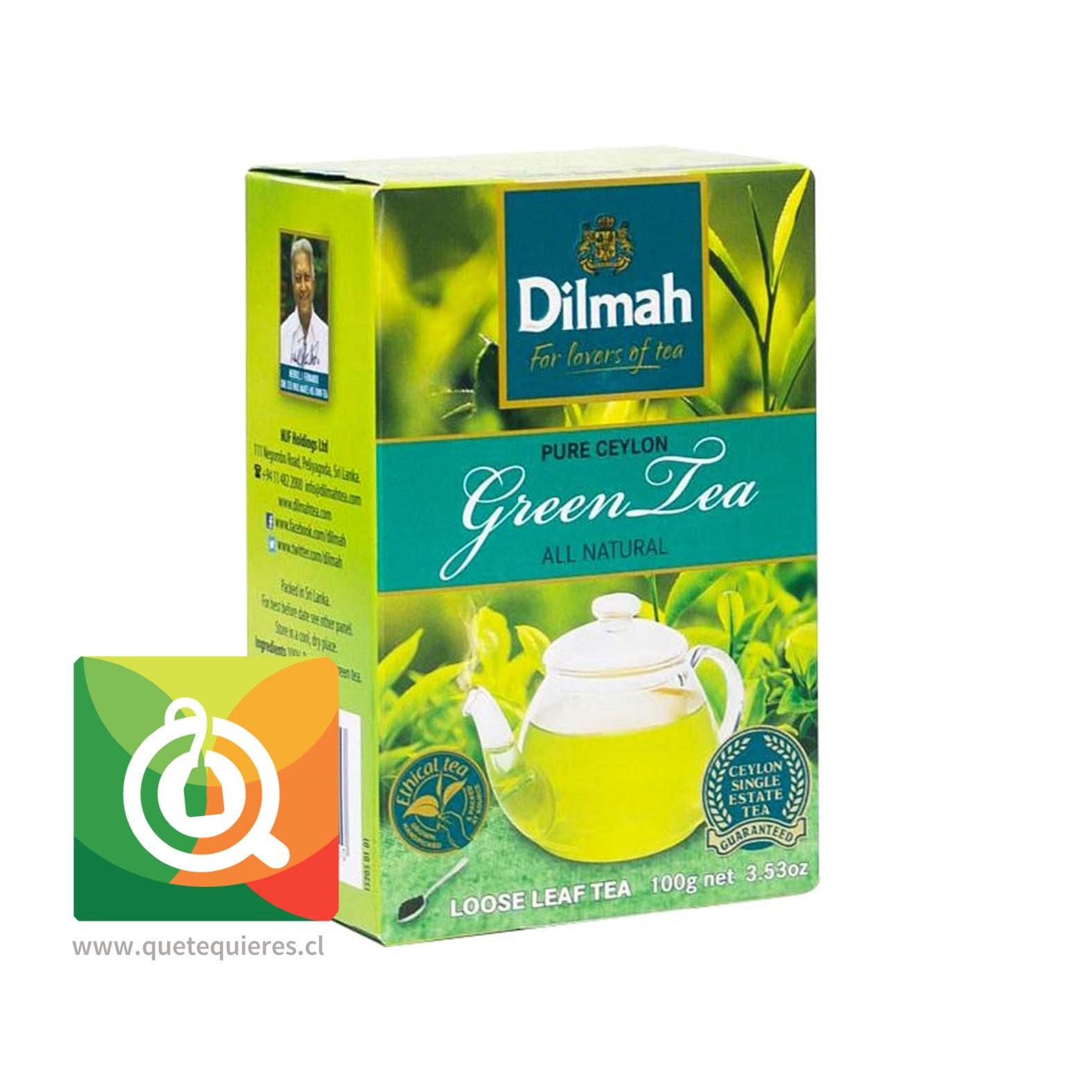 Dilmah Té Verde Natural 100 gr