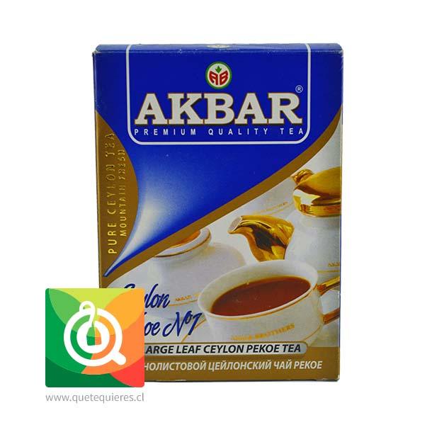 Akbar Té Negro Pekoe