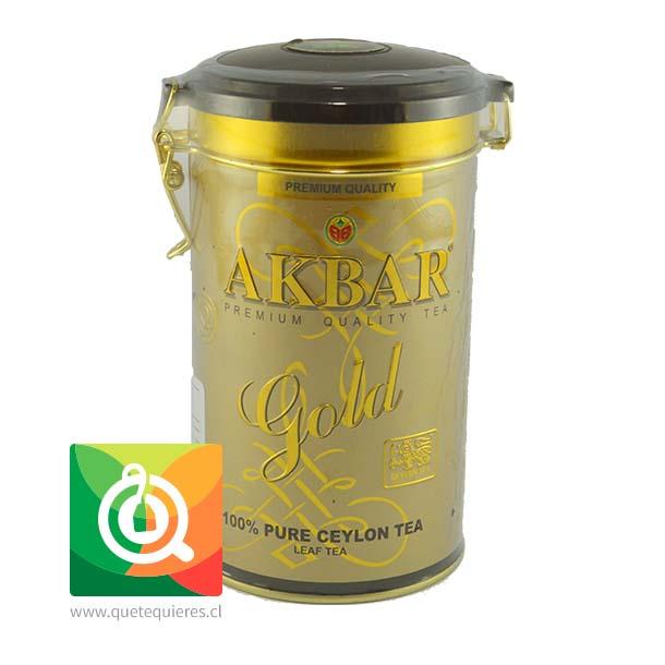 Akbar Gold Té Negro Tarro