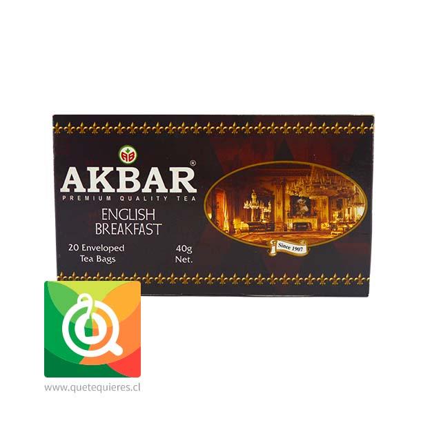 Akbar Té English Breakfast 20 bolsitas