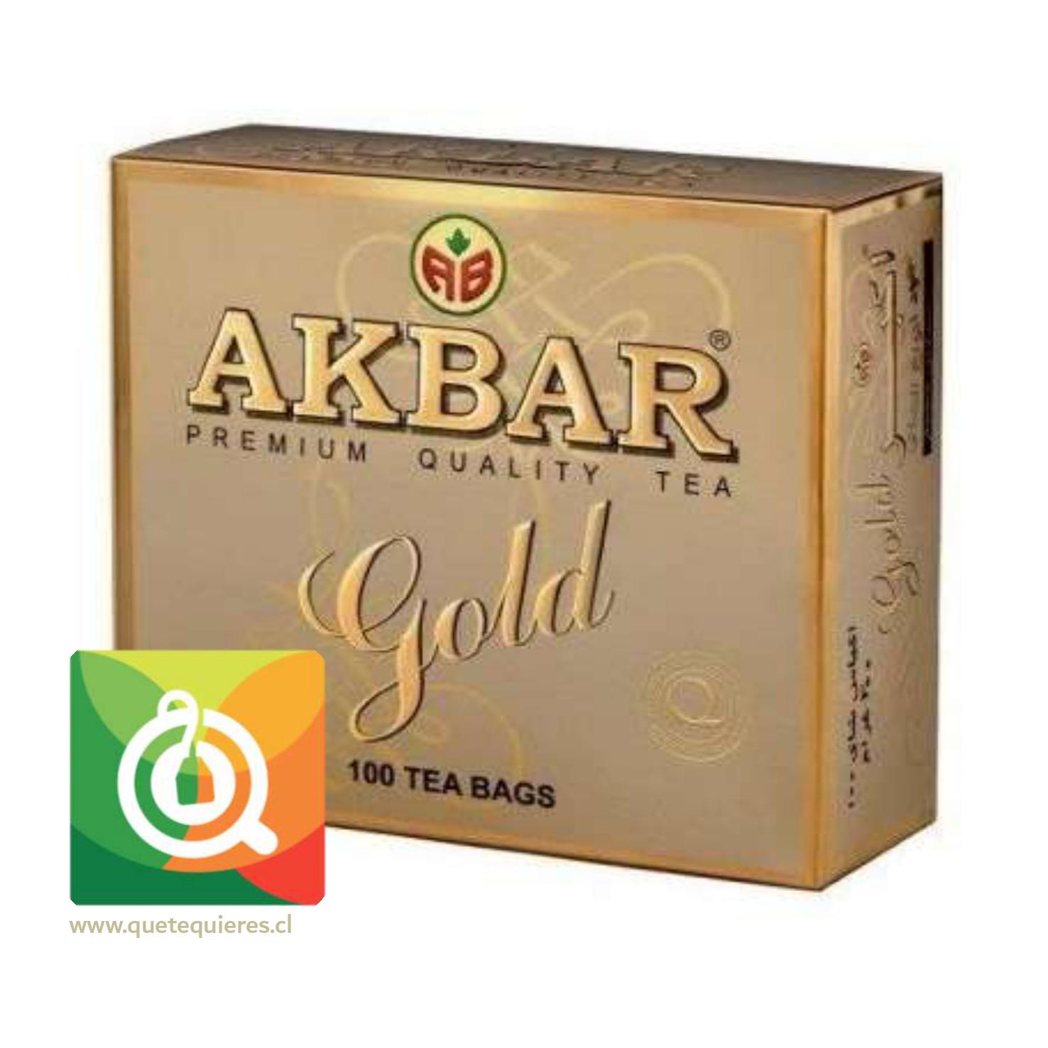 Akbar Té Negro Gold 100 bolsitas