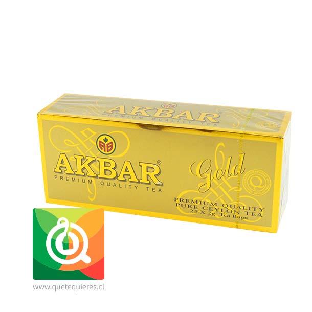 Akbar Té Negro Gold 25 bolsitas