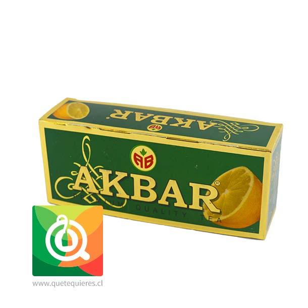 Akbar Té Verde Limón Gold
