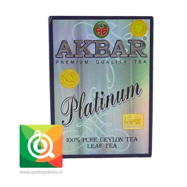 Akbar Té Negro Platinium