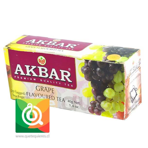 Akbar Té Negro Uva