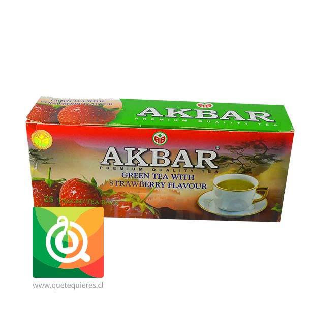 Akbar Té Verde Frutilla