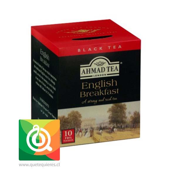 Ahmad Té Negro English Breakfast 10 Bolsitas- Image 1