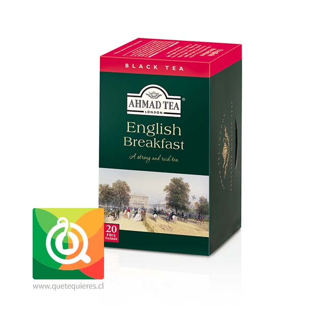 Ahmad Té Negro English Breakfast 20 bolsitas- Image 1